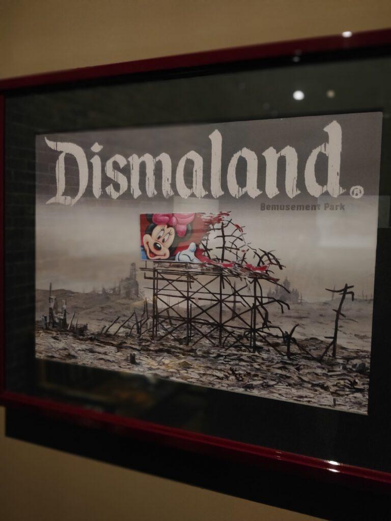 ディズマランド BANKSY バンクシー   テーマパーク 2015年  幻 ダーク dismaland ディズニー ディズニーランド ディズニーシー USJ